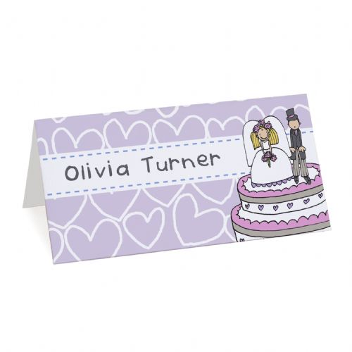 Personalised Bang on the Door Place Cards 19 Pack